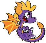 Little happy Spyro by diuky
