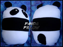 Panda Pillow by Kium