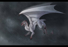 Kite In A Storm by Kium