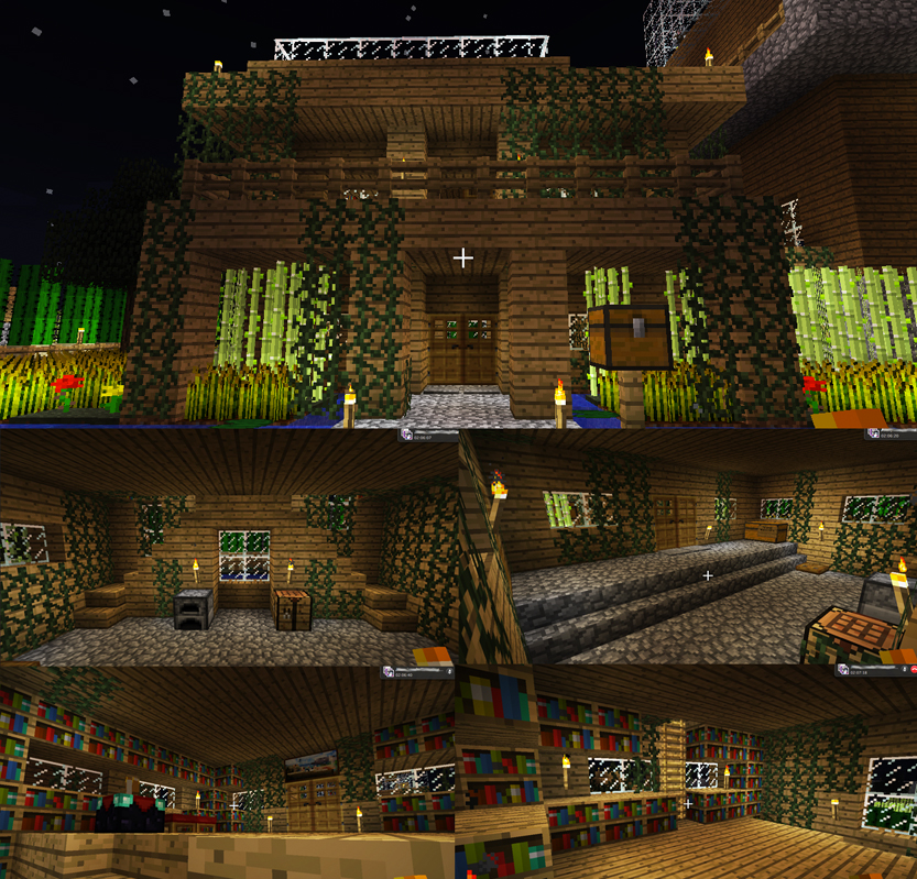 how to build a cute minecraft house
