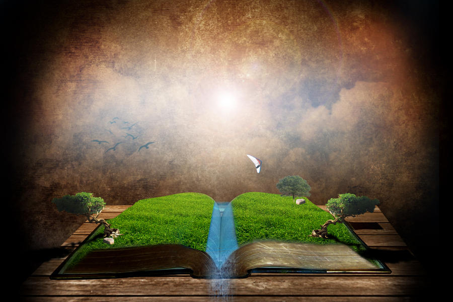 book of nature by ah30 on DeviantArt
