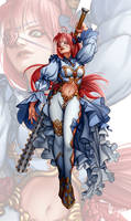 [Cerberus 2] Character Design [Commission]