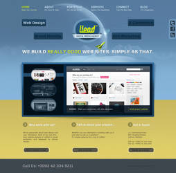 web agency portfolio by punkt11