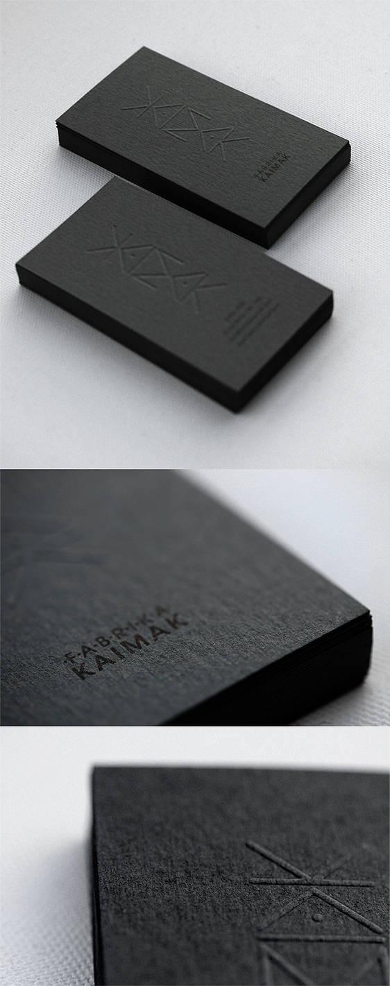 KAIMAK business cards by punkt11