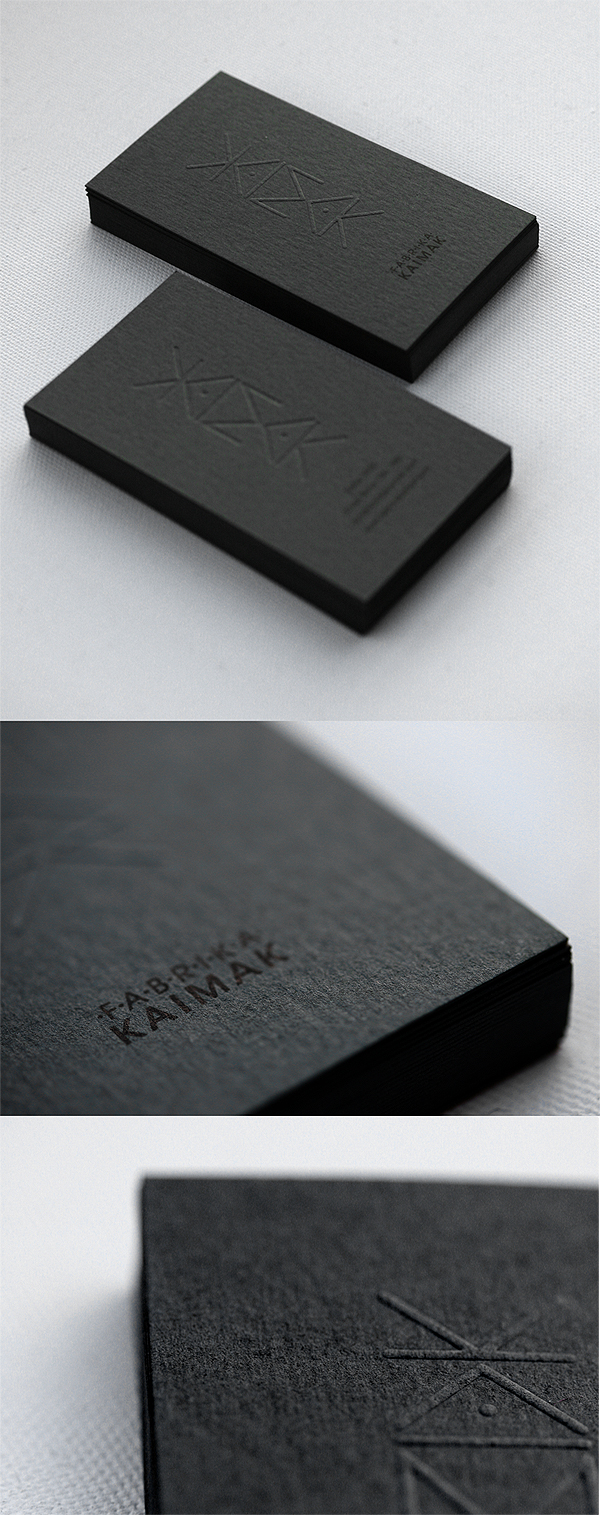 KAIMAK business cards by punkt11