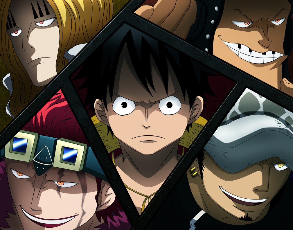 One Piece: SuperNovas by Gerardo007 on DeviantArt
