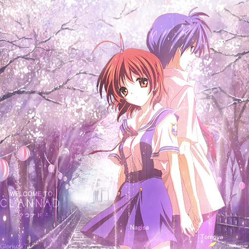 Nagisa And Tomoya Clannad By Gloriuzx78 On Deviantart
