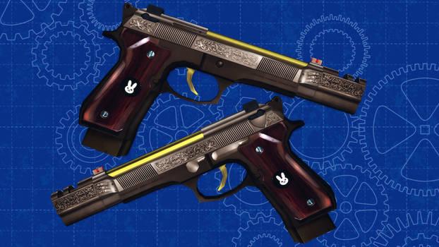 [MMD] Bunny Blumstein's Beretta M9 Custom 'Usagi'