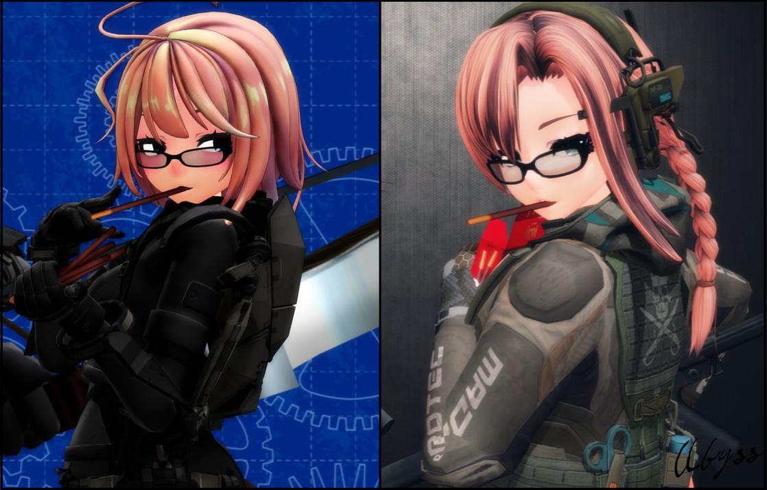 [MMD] Kira Hunters: Progress (2016-2018) by AbyssLeo