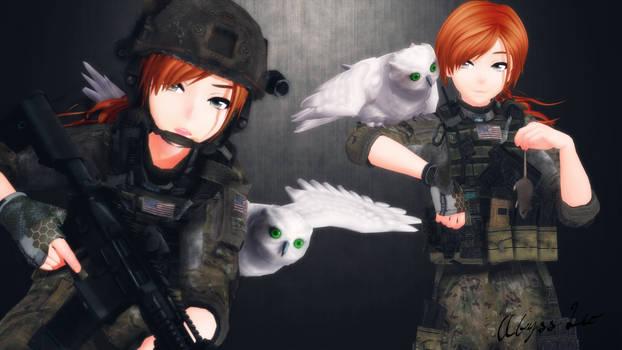 [MMD] Aki Hunters