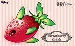 Strawberry Shark Pt/Paypal Adopt (closed)