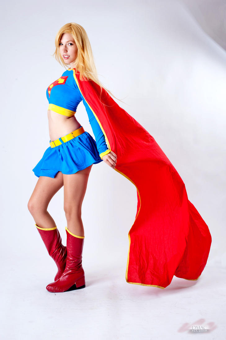 Supergirl Stock by shut-up-and-duel-me