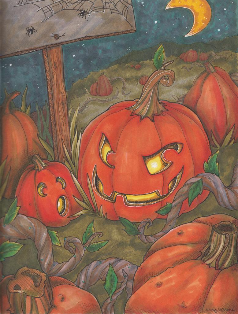 Pumpkin Patch by LaGunn