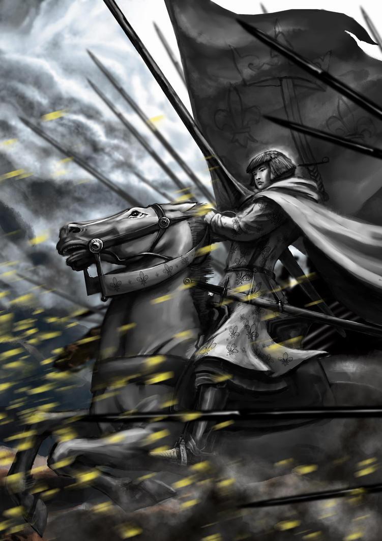 Joan of Arc by HappyMorningStar
