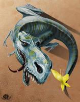 Crazy T-Rex by HappyMorningStar