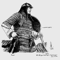 Medieval Mongol horseman by HappyMorningStar