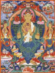 Maitreya next Buddha by HappyMorningStar
