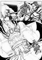 Space boy comic page 17 by HappyMorningStar