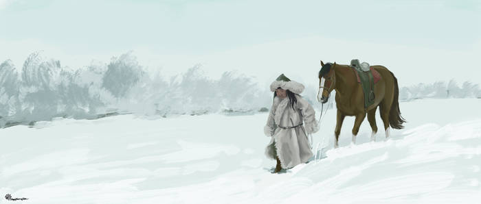 Mongol Nomad Boy