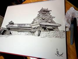 Utoyagura turret - Shogun totalwar's castle