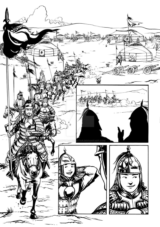 Hero Comics 01_17 by HappyMorningStar