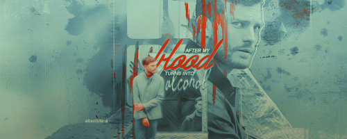 After my blood turns into alcohol |Signature| by Absolute-A