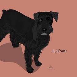 Zez   Pet digital Illustration