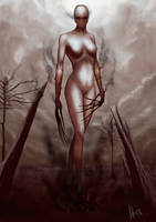 Red Hot Doom by esteban-art