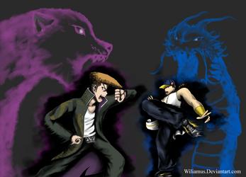 Last request ( Mondo vs Yun ) by Wiliamus