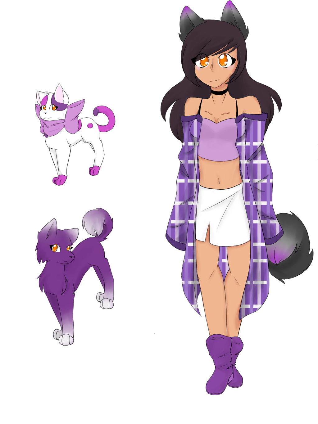 Aphmau Fan Art By Kittylovecupcake On Deviantart