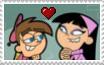 Timmy x Trixie stamp by ChickTristen94