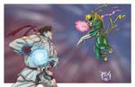Ryu vs Ironfist commission
