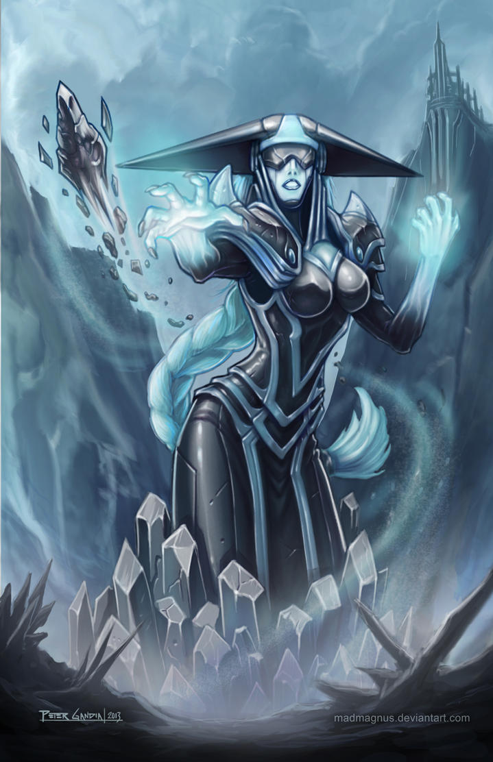 League of Legends - Lissandra FINAL by madmagnus on DeviantArt