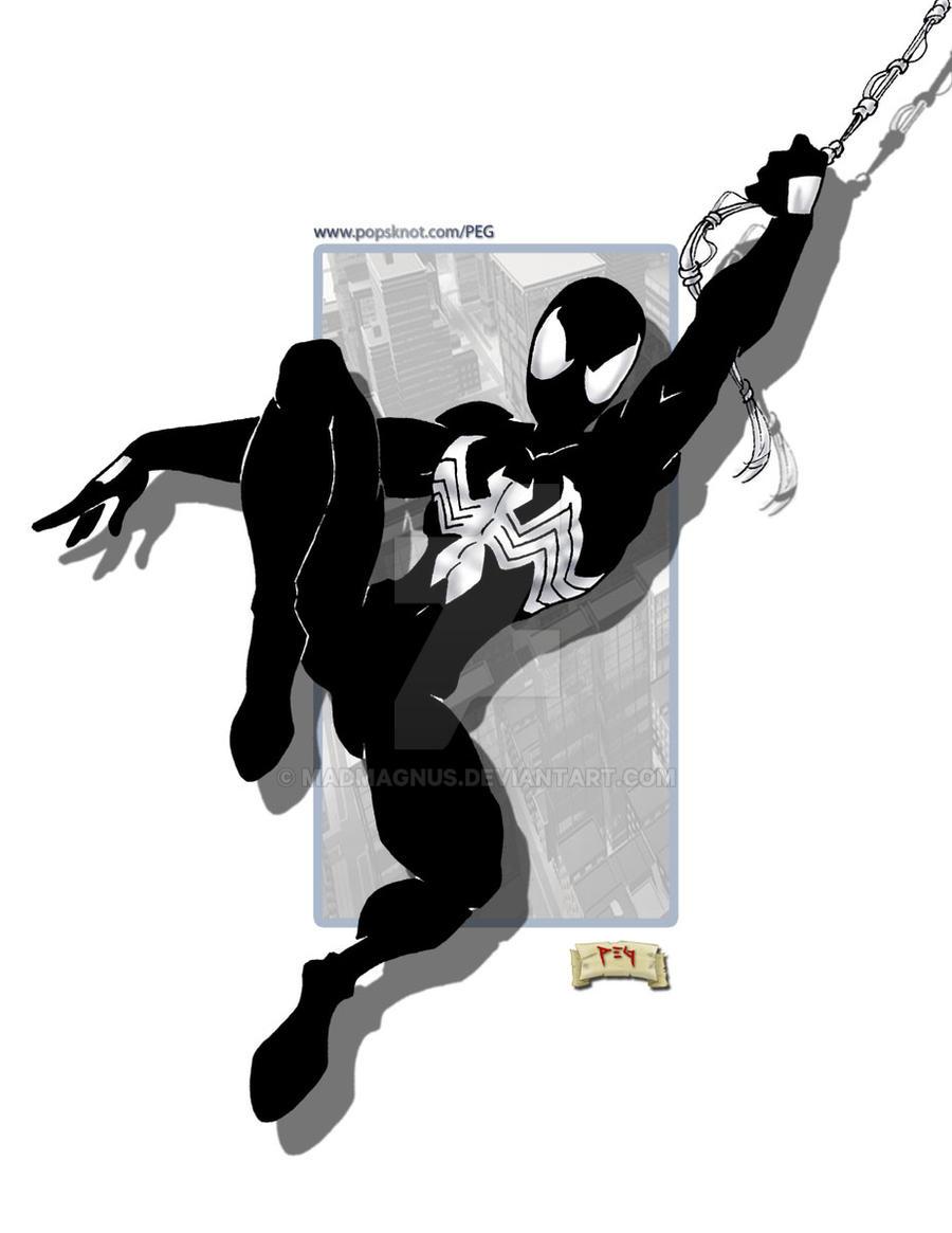 black suit spiderman favourites by shinku246 on DeviantArt