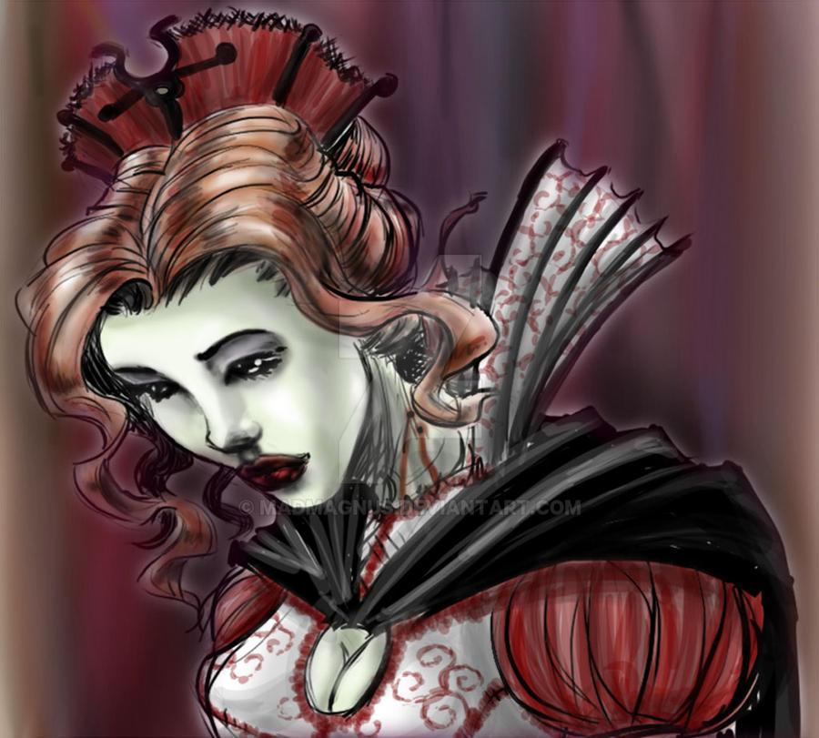 Vampiress by madmagnus
