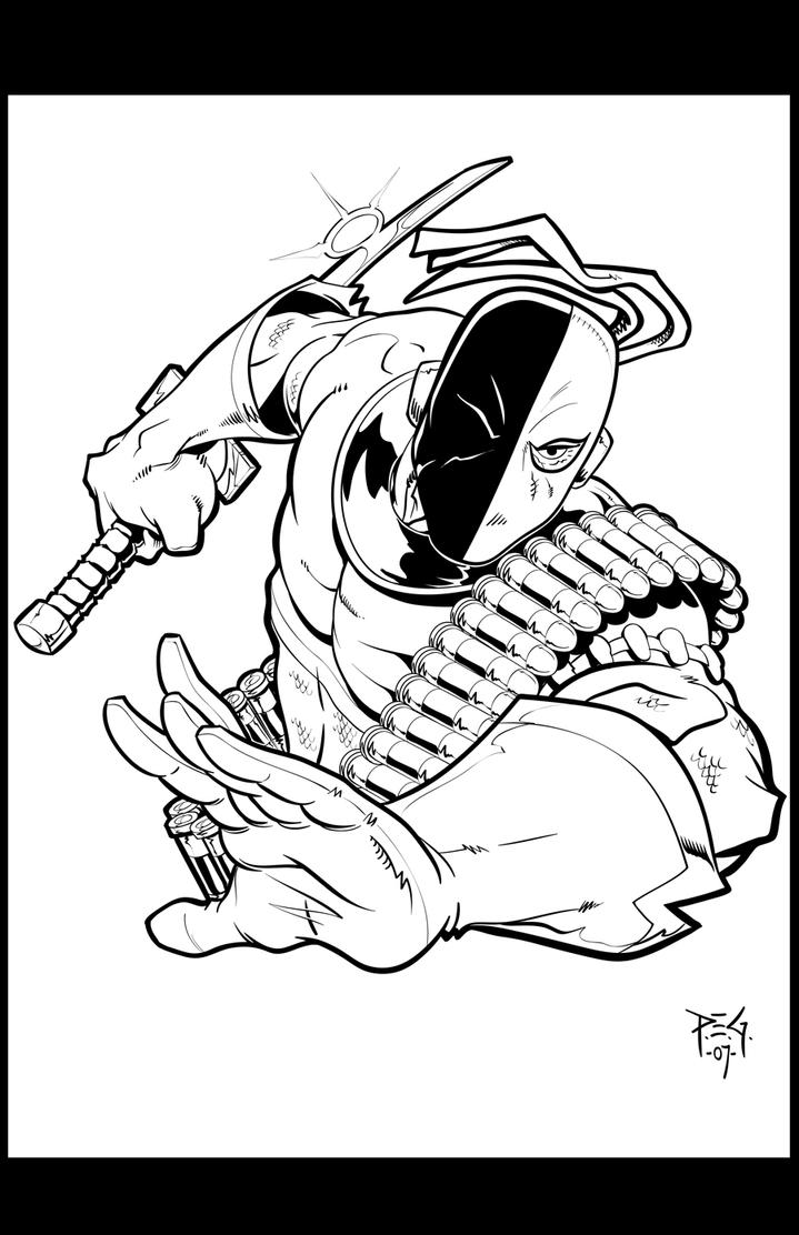 deathstroke coloring pages - deathstroke mask coloring pages
