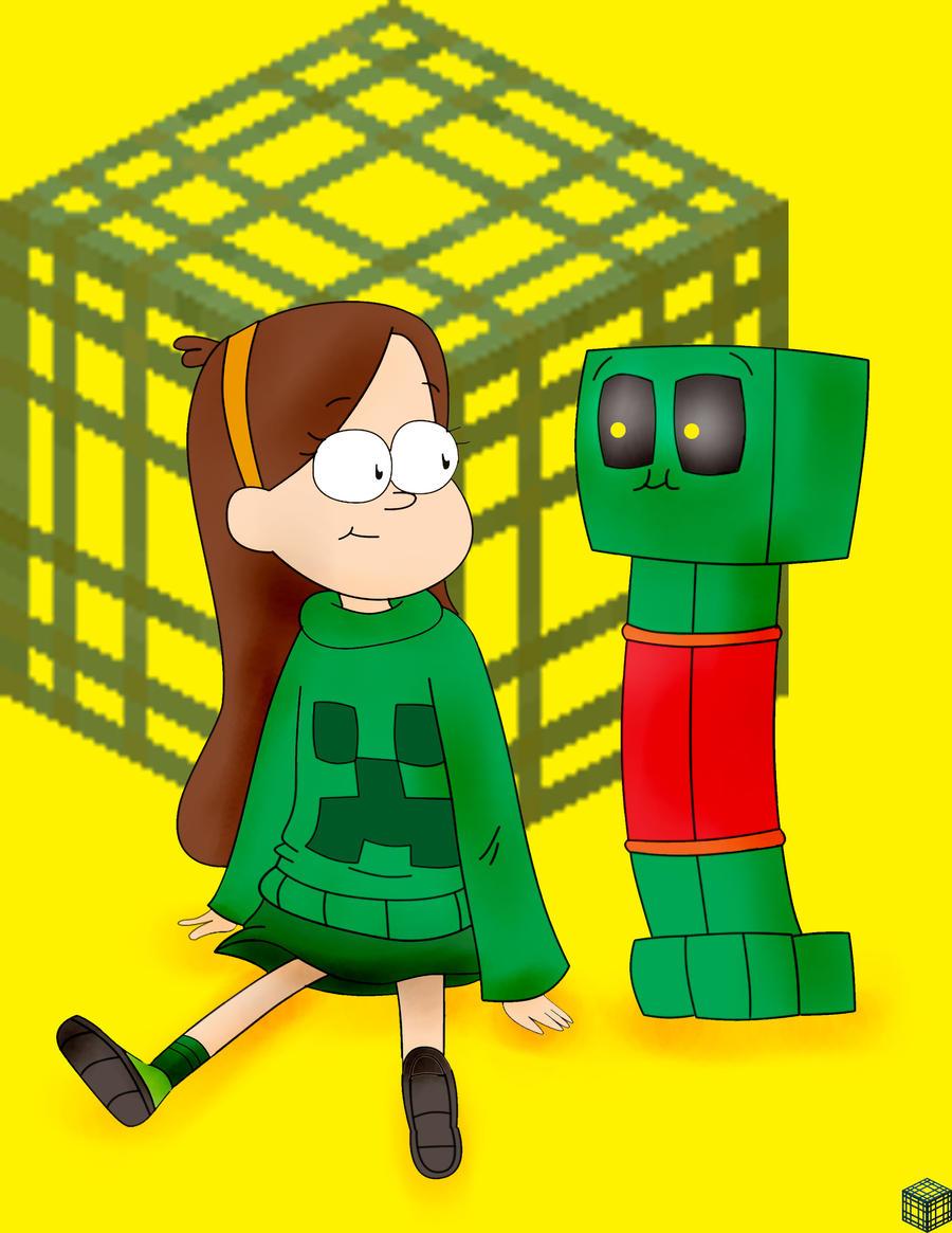 Good Wallpaper Minecraft Cute - mable_meets_minecraft___creeper_by_despawner-d5o10gl  HD_96772.jpg