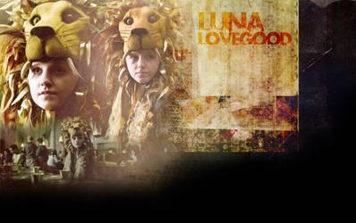 Luna Lovegood by mysticaleaves