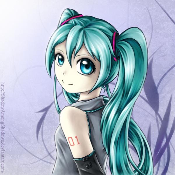 Hatsune Miku by ShadowAmongShadows