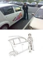 Kirua : car advertising :P by DilaFAS