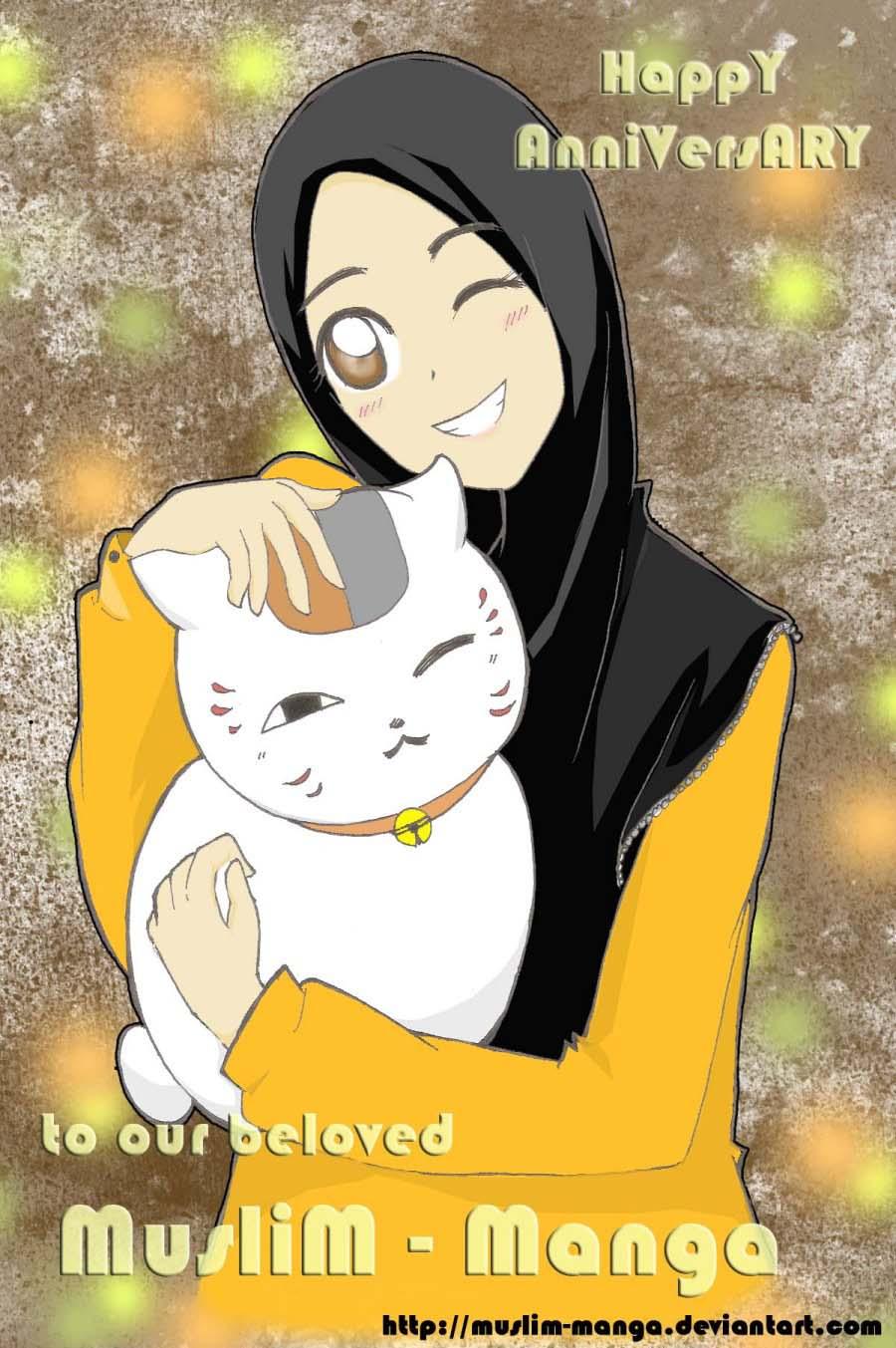 Anniversary Muslim Manga By Dilafas