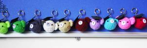 ami-kuma keychains
