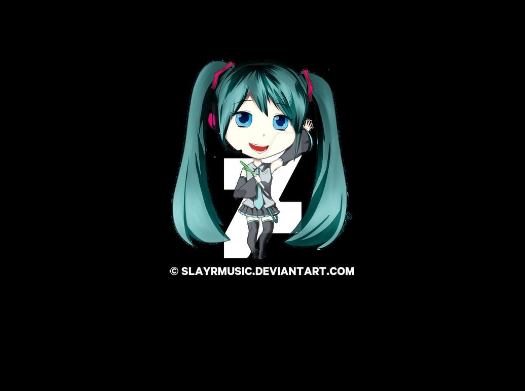 Hatsune Miku Chibi By Slayrmusic