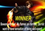 Kyo victory dialogue