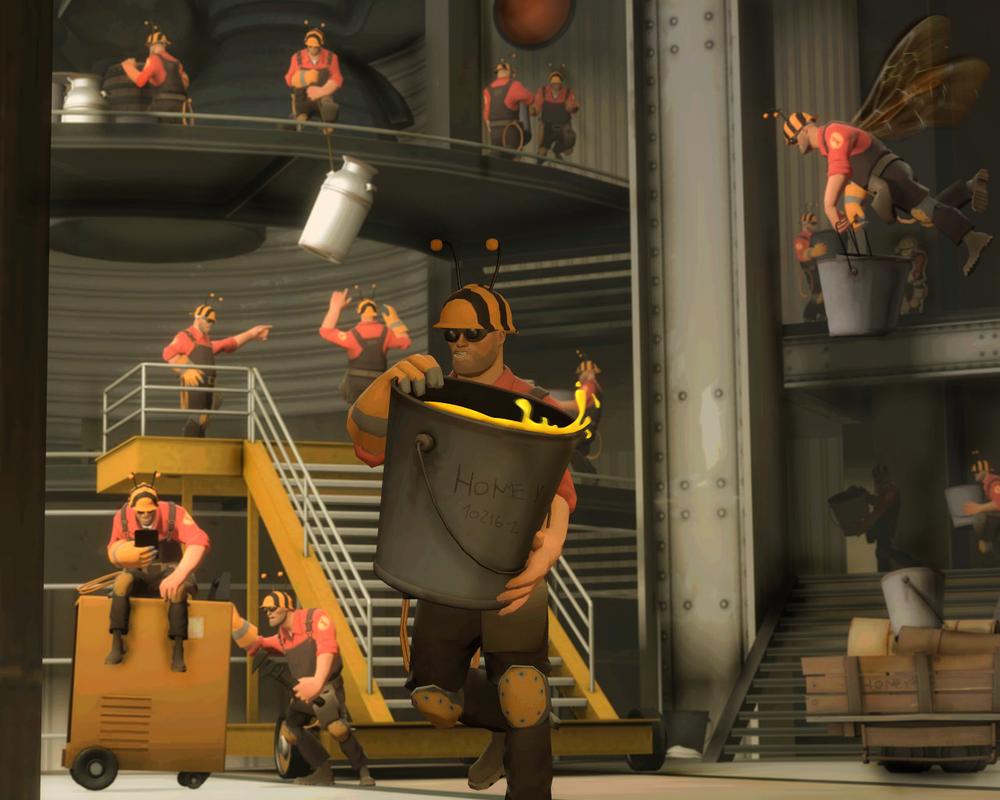Engineer Hive by EvGen1us