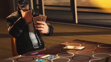 Unthoughtful duelist