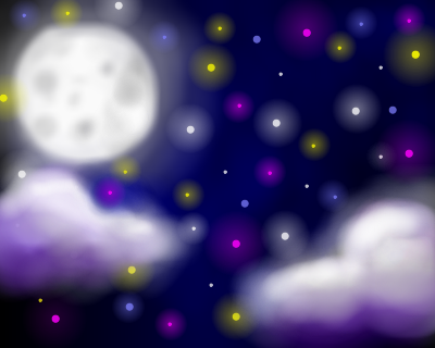 Night Sky by mrmeshida