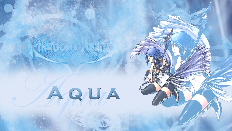 kingdom hearts aqua wallpaper