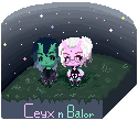 Ceyx n Balor by PitchySoldier