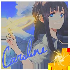 Mark of magic Vol I: Despertares. - Página 3 Caroline_by_arikawarin-d7oxlkb